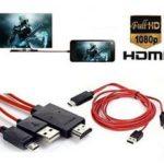 Cáp MHL 11Pin to HDMI dùng cho Samsung Galaxy, Note