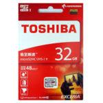 Thẻ Nhớ MICRO SD TOSHIBA 32G